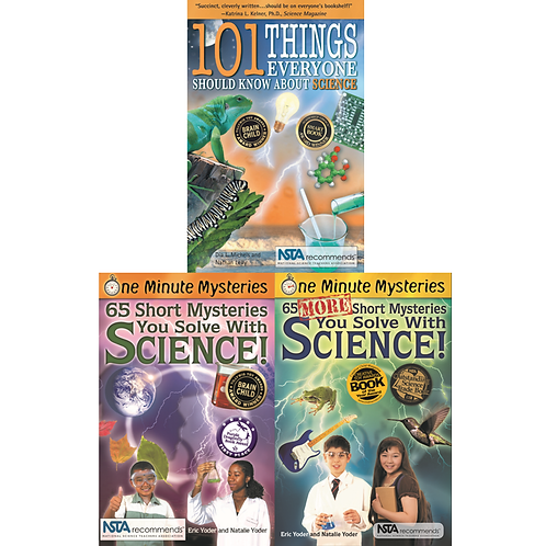 Science In A Minute Book Set