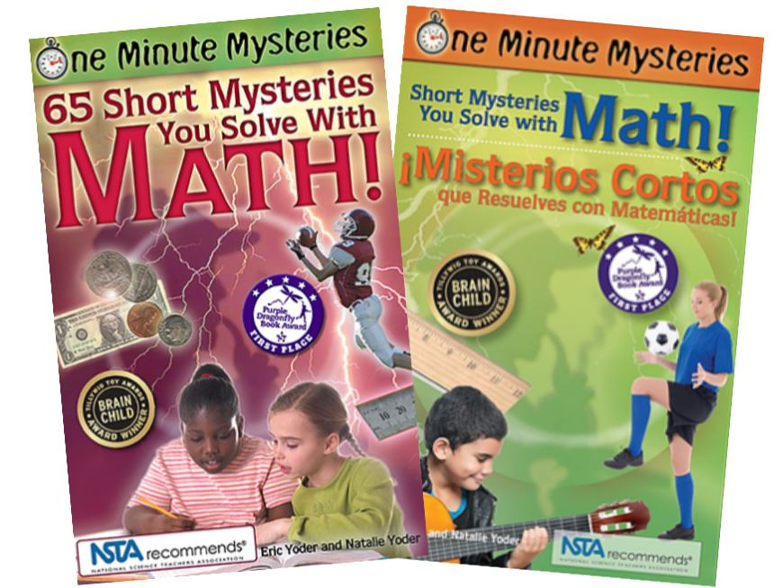 short mysteries you solve with math stem summer learning loss platypus media children book recommendations