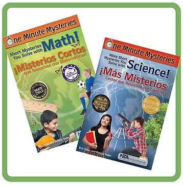 one minute mysteries science naturally math STEM early education
