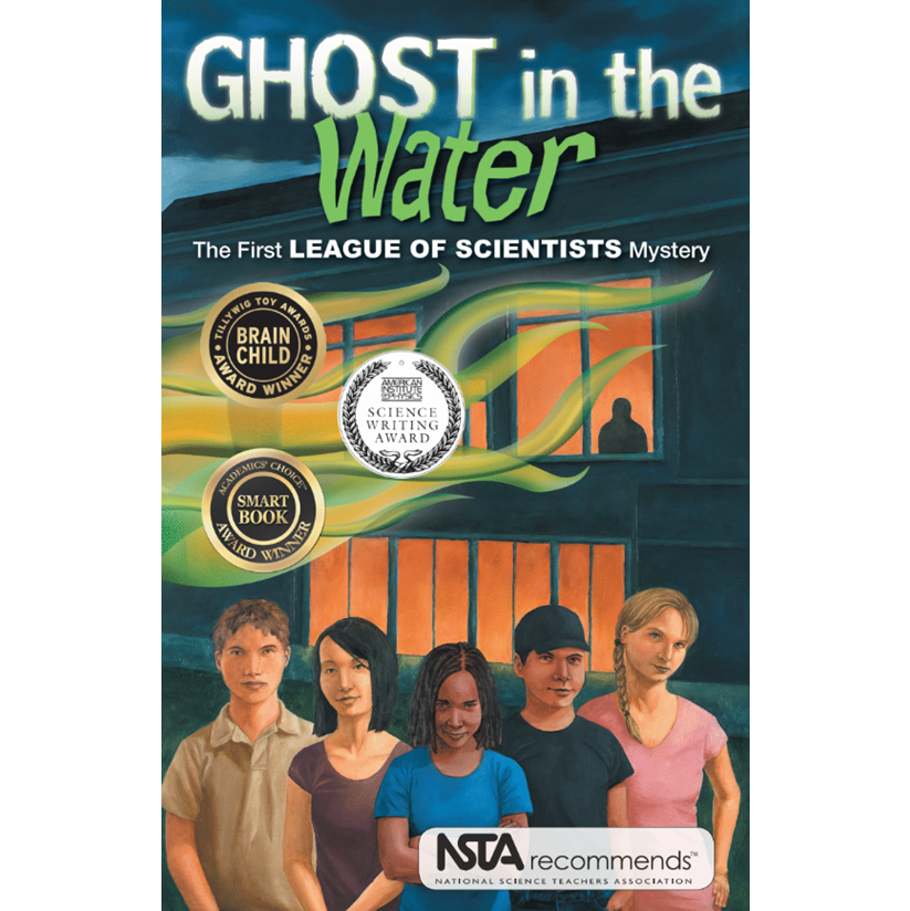 Ghost in the water science platypus media STEM