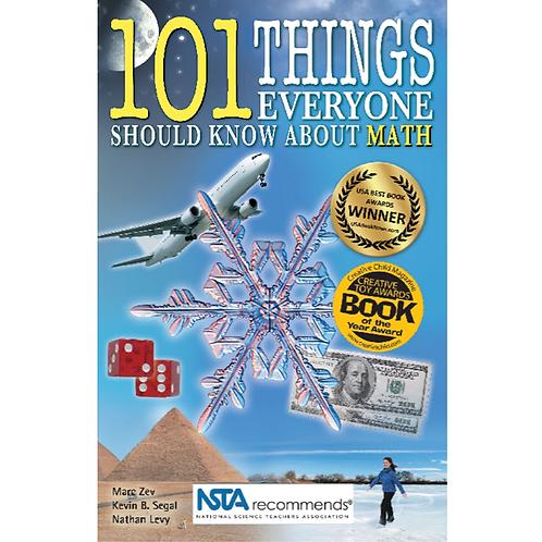 Cover of fun award winning math through literature STEM book