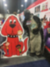 Clifford and Snugglepus.JPG