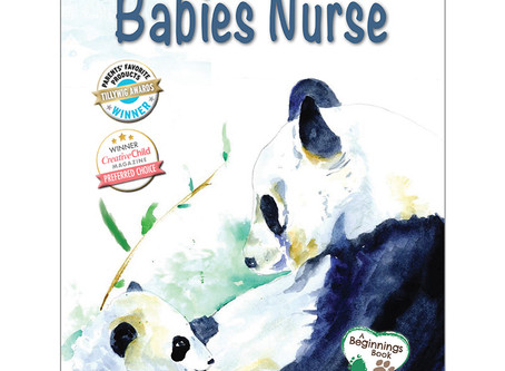 Enter to Win Copies of Our Two New Books: Cuddled and Carried and Babies Nurse!
