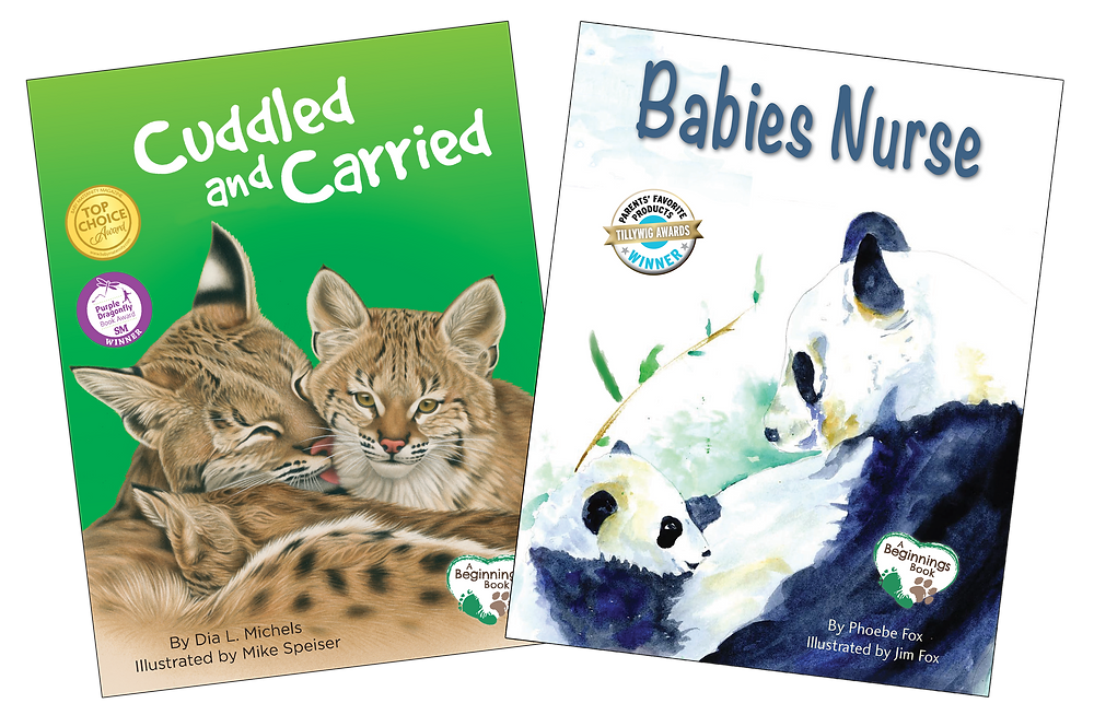 nurtured and nuzzled, bilingual resources, early education, spanish, english, platypus media