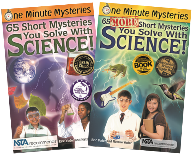 Short mysteries you solve with science early education STEM math