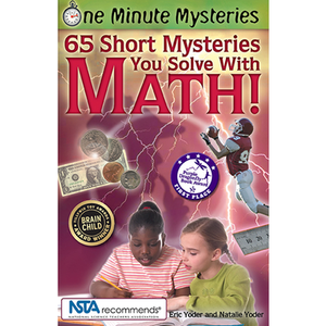 65 Short Mysteries you solve with math platypus media STEM education