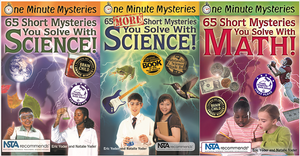 65 short mysteries you solve with science