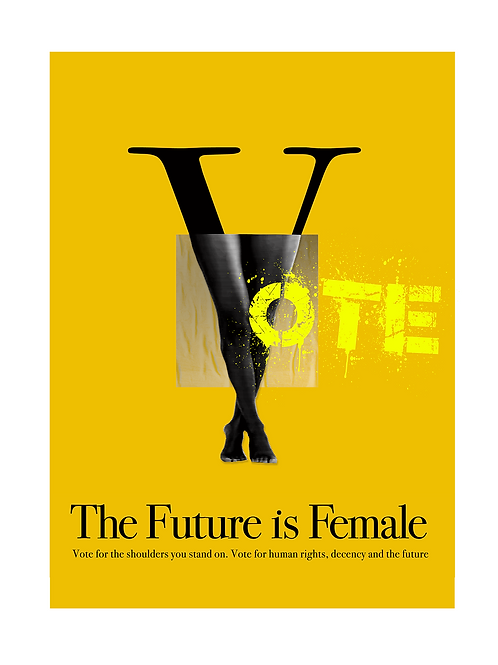 Vote, The Future is Female