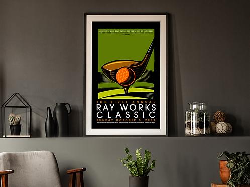 Ray Works Memorial Poster-Framed