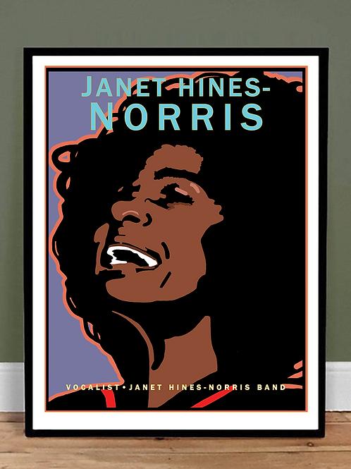 Janet Hines-Norris, Vocalist