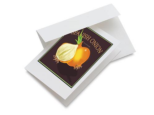 Spanish Onion Notecards Set of 10