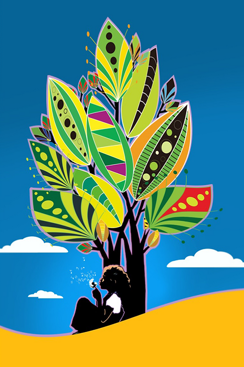 Learning Tree, Art on Canvas