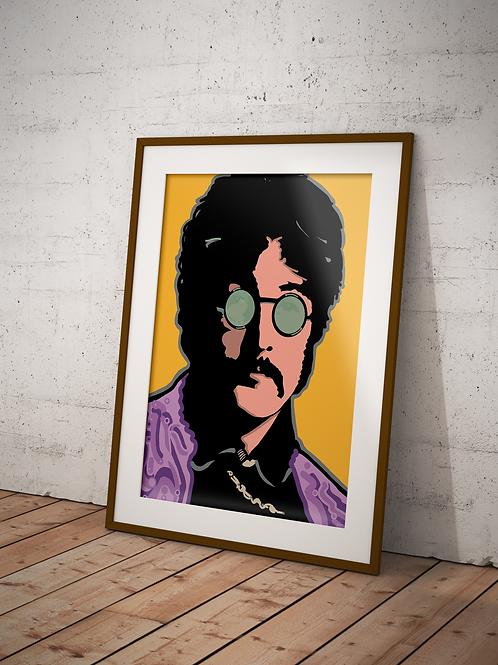 Summer of Love, John Lennon-Framed