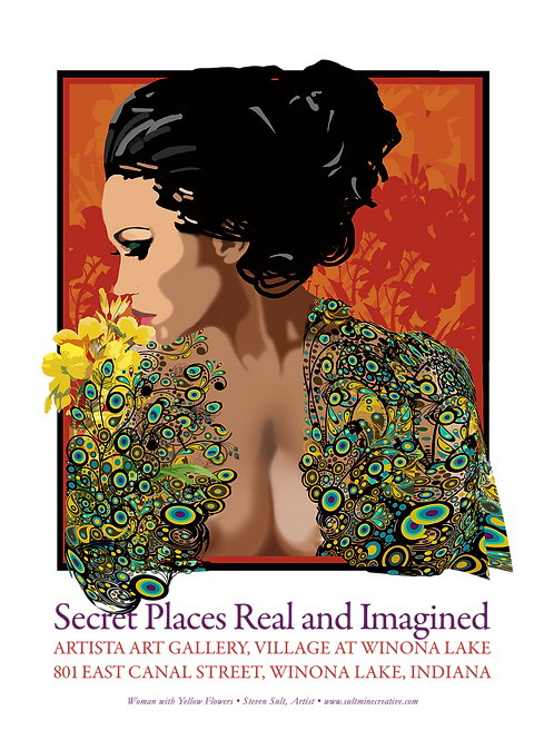 Secret Places Real and Imagined Promotional Poster