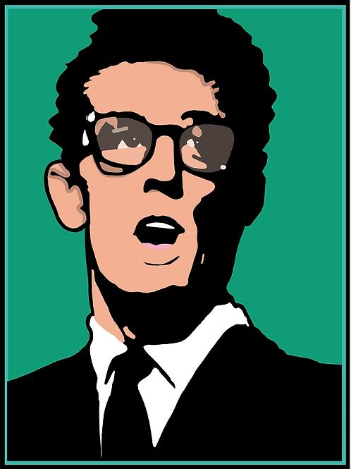 Buddy Holly, Art on Canvas