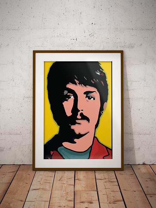 Paul McCartney, Summer of Love- Framed
