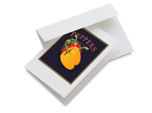 Pepper Notecards Set of 10