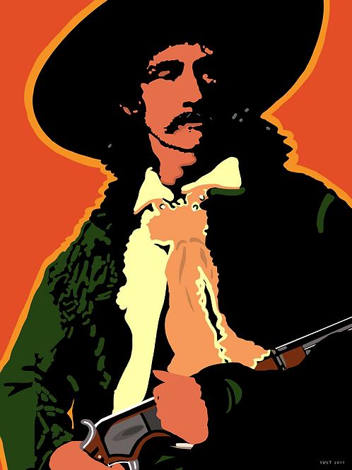 Gunslinger, art on canvas