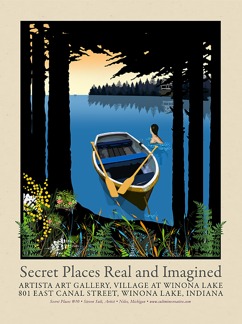 Secret Places Real and Imagined Promotional Poster #2
