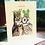 Thumbnail: Festive Owl Thank you Card