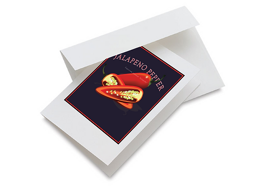 Jalapeno Pepper Notecards
