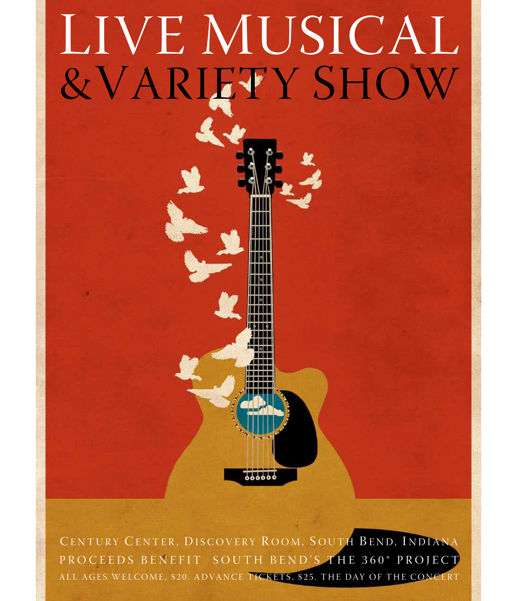 Guitar Dove: 2014 Everybody Has A Story