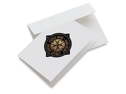 Fierce Mind Emblem - Set of 10 notecards