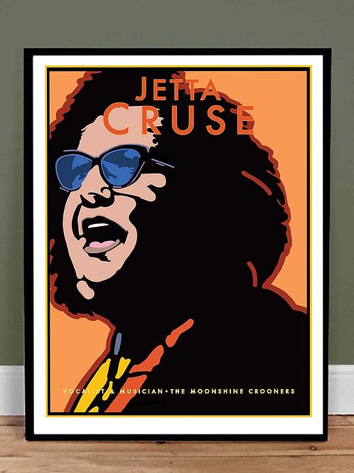 Jetta Cruse, singer/songwriter, musician, vocalist
