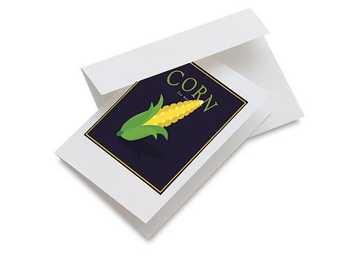 Corn Notecards Set of 10