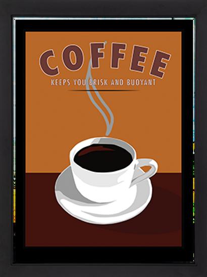"""Coffee Framed 18 x 24"""""""
