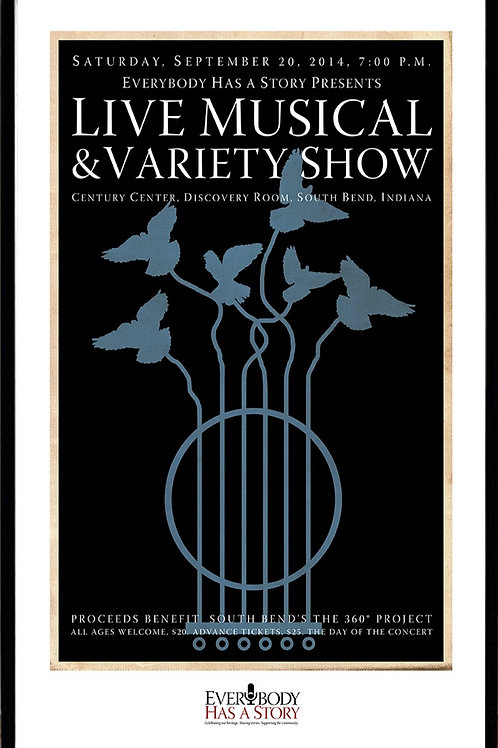 Six String Sextet, Promotion Poster for Everybody Has A Story