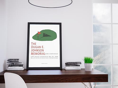 2008 Dugan Memorial Golf Invitational-Framed