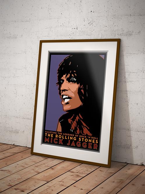 Mick Jagger-Framed