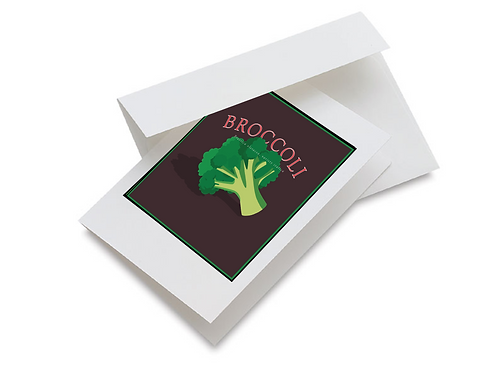 Broccoli Notecards set of 10