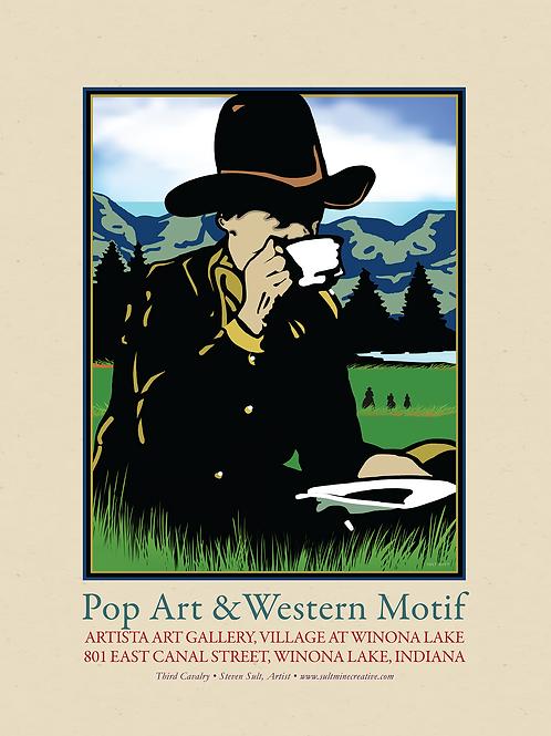 Pop Art & Western Motif
