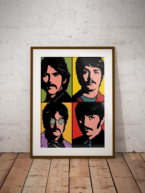 Beatles 1967-Framed