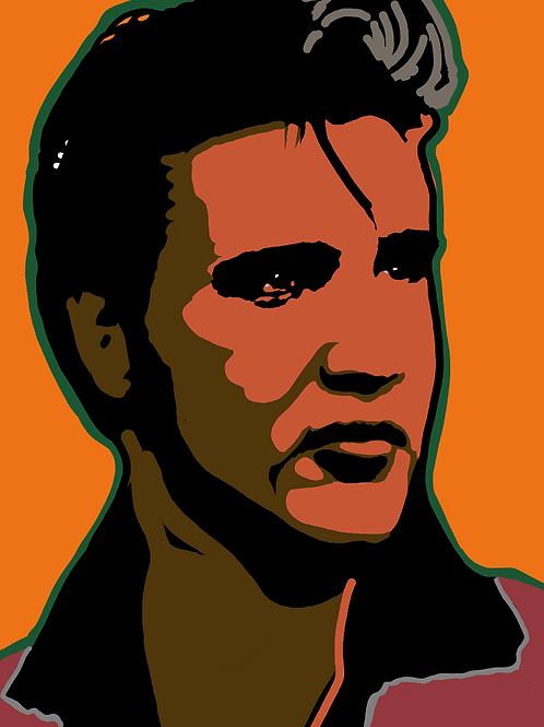 Elvis Art on Canvas
