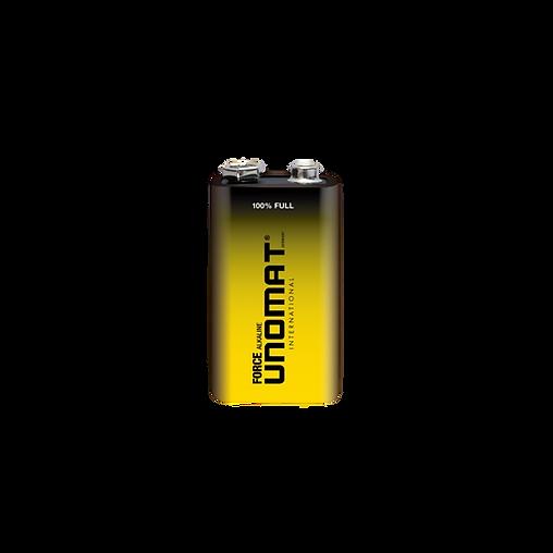 Unomat Force Alkaline Battery 9V
