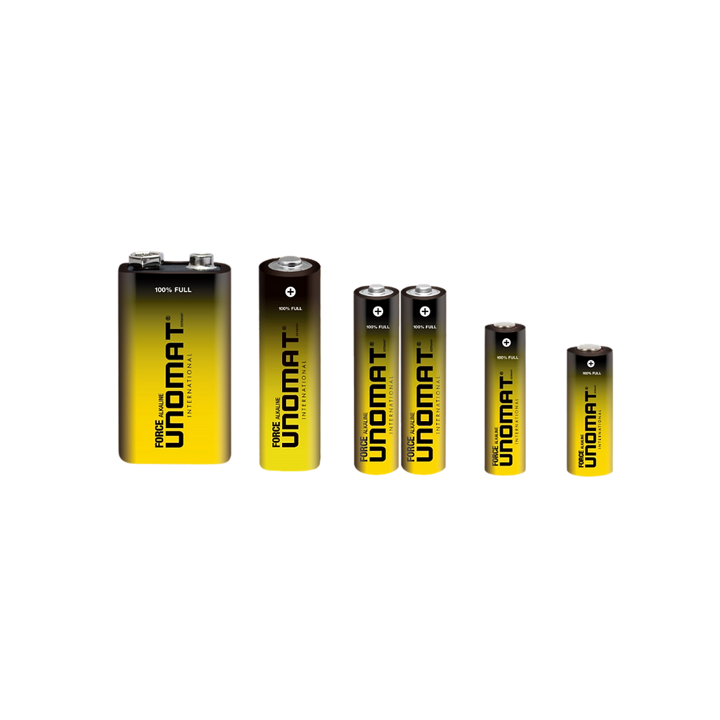 Unomat Force Alkaline Battery