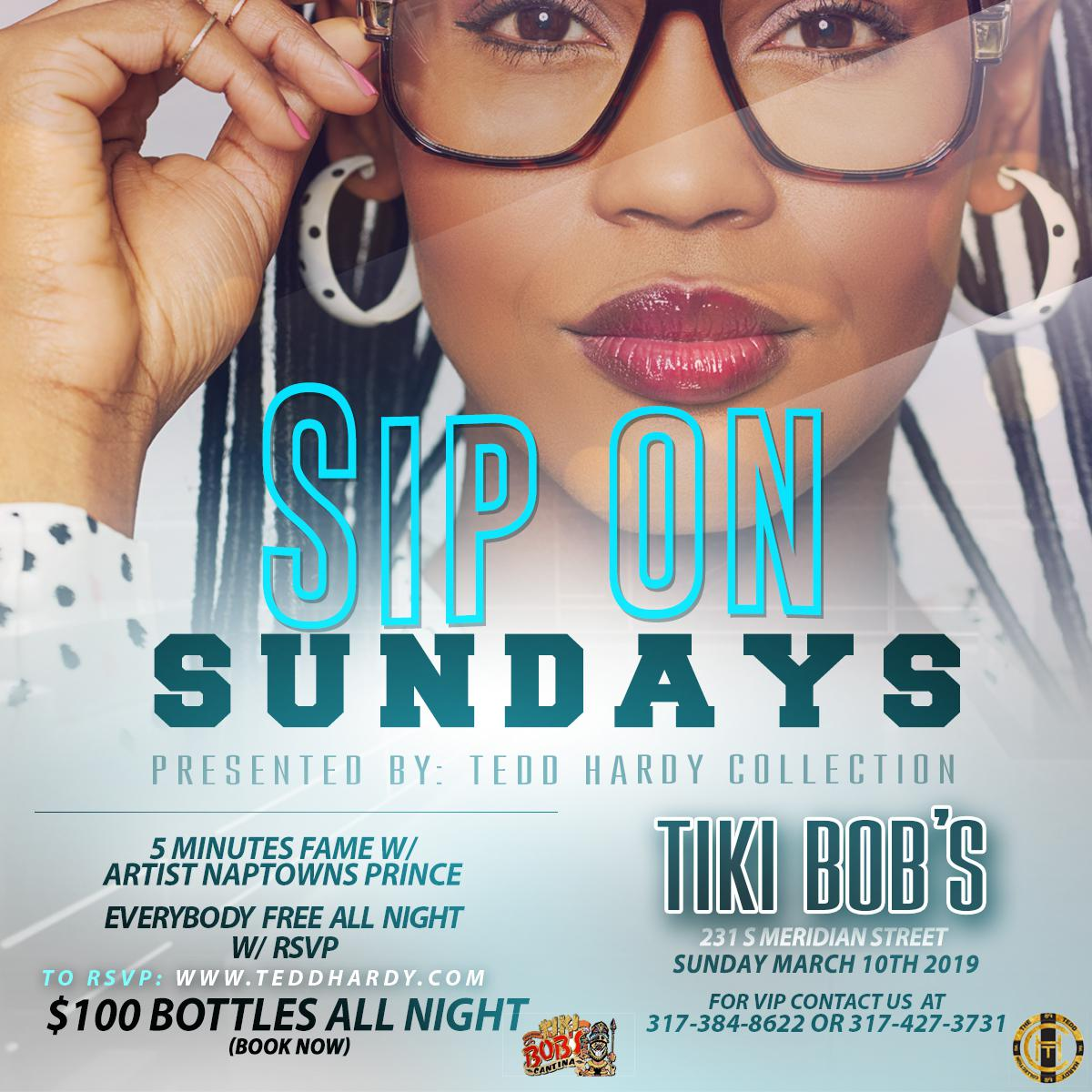 afe5019df SIP ON Sundays Featuring 5 Minutes Of Fame