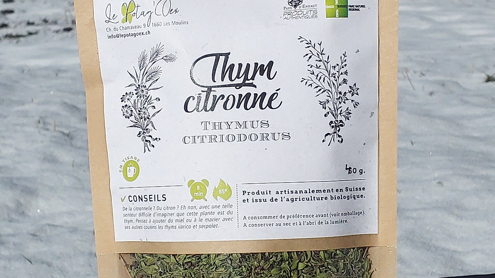 Tisane thym citronné 40g