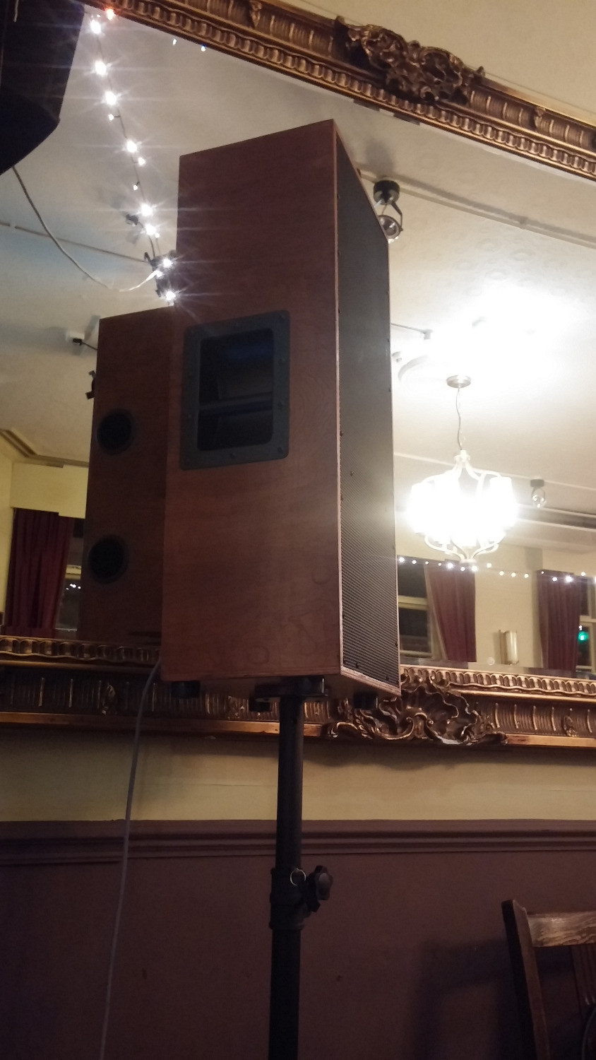 Large PA at the Lescar, Sheffield