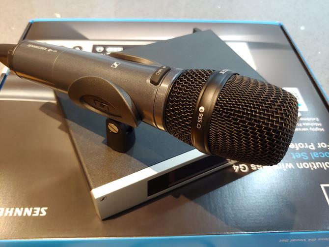 Wireless Mic!