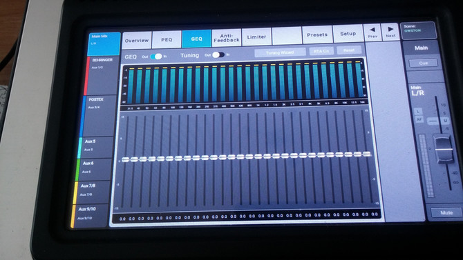 TouchMix V3.0 - Room Tuning Wizard