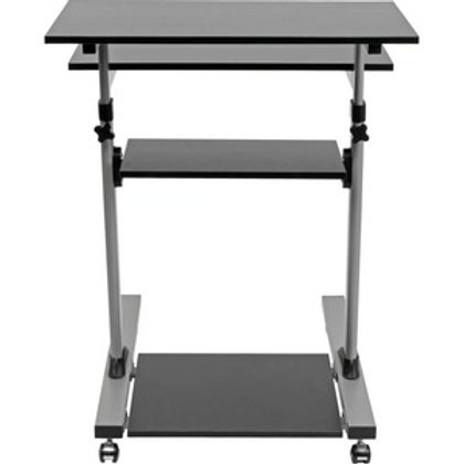 Tripp Lite Rolling Standing Desk/Workstation on Wheels