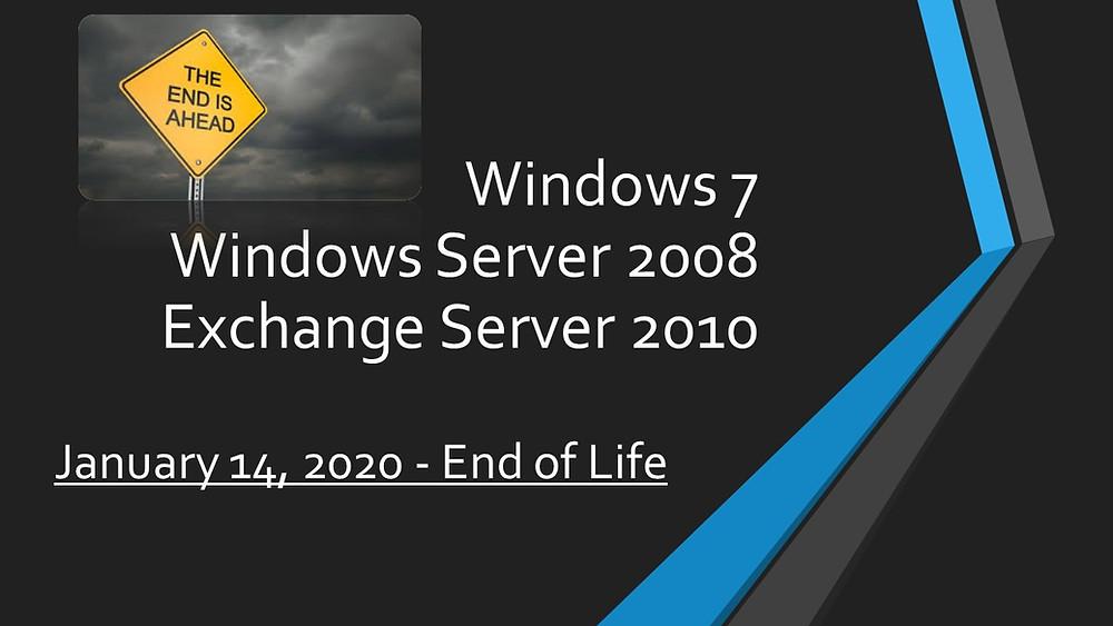 Server 2008 Windows 7 Exchange 2010