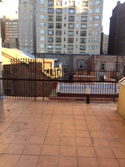 Tile Roof Deck - Before