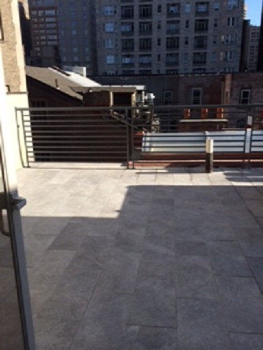 Tile Roof Deck - After