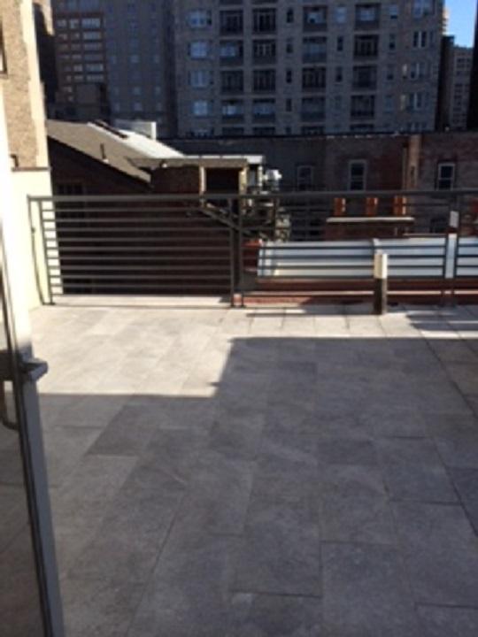Tile Roof Deck - After