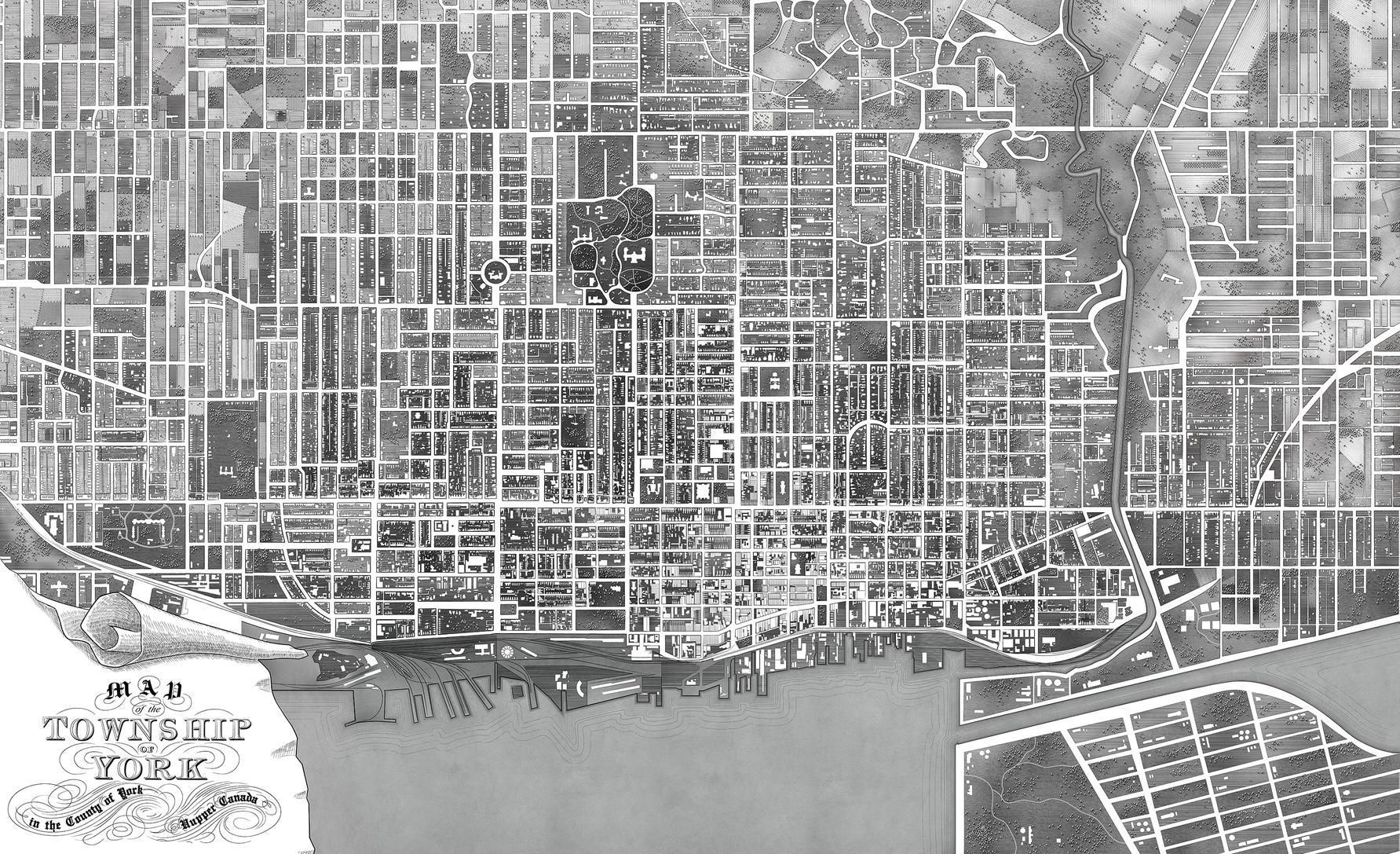 Toronto city map